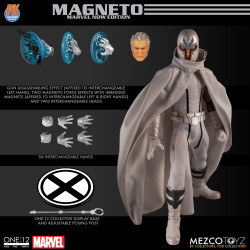 MAGNETO MARVEL NOW EDITION ONE-12 COLLECTIVE MARVEL PREVIEWS ACTION FIGURE 16 CM