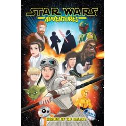 STAR WARS ADVENTURES TP VOL 1 HEROES OF GALAXY