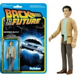 GEORGE MC FLY BACK TO THE FUTURE REACTION ACTION FIGURE
