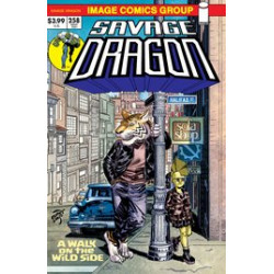 SAVAGE DRAGON VOL 258 CVR B RETRO 70S TRADE DRESS