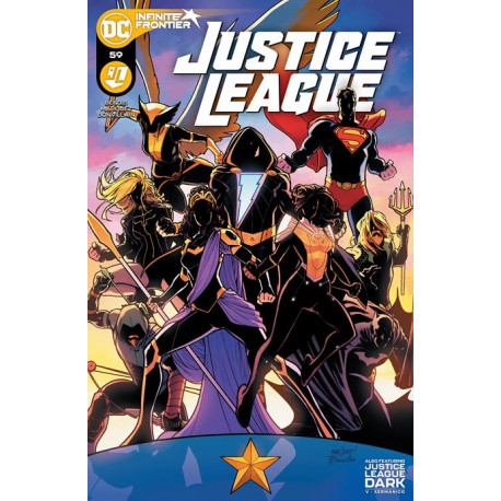 JUSTICE LEAGUE 59 CVR A DAVID MARQUEZ