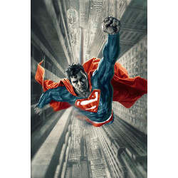 SUPERMAN RED BLUE 1 OF 6 CVR B LEE BERMEJO VAR