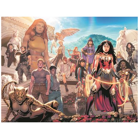 WONDER WOMAN 770 CVR B TRAVIS MOORE WRAPAROUND VAR