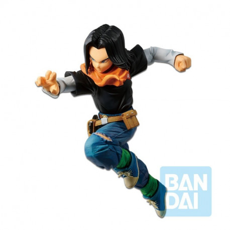 ANDROID C17 DRAGONBALL Z STATUETTE PVC THE ANDROID BATTLE