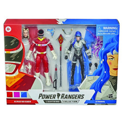 RED R VS ASTRONEMA POWER RANGERS LIGHTNING COLLECTION 2 PACK ACTION FIGURES