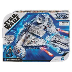 STAR WARS MISSION FLEET MILLENNIUM FALCON