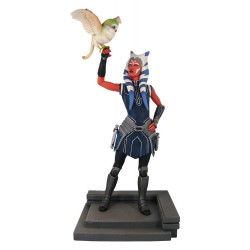 AHSOKA TANO STAR WARS THE CLONE PREMIER COLLECTION STATUE