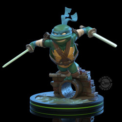 LEONARDO TORTUES NINJA Q-FIG FIGURINE 13 CM