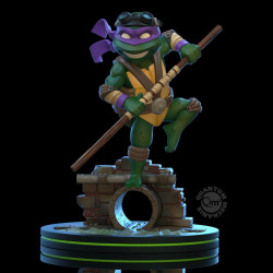DONATELLO TORTUES NINJA FIGURINE Q-FIG 13 CM