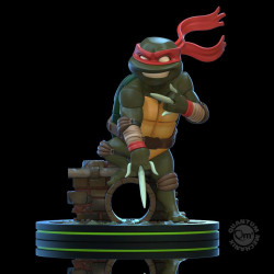 RAPHAEL TORTUES NINJA Q-FIG FIGURINE 13 CM