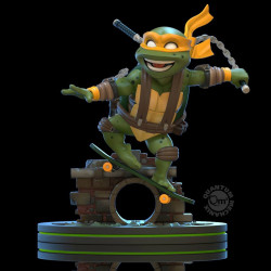 MICHELANGELO TORTUES NINJA Q-FIG FIGURINE 13 CM