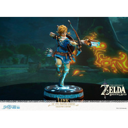 LINK THE LEGEND OF ZELDA BREATH OF THE WILD COLLECTOR'S EDITION STATUE 25 CM