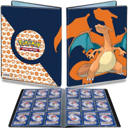 DRACAUFEU POKEMON PORTFOLIO 9 CASES