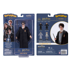 HARRY POTTER FIGURINE FLEXIBLE BENDYFIGS HARRY POTTER 19 CM