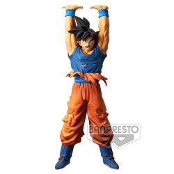 DRAGON BALL SUPER STATUETTE PVC SCULTURES SON GOKU GIVE ME ENERGY SPIRIT BALL SPECIAL