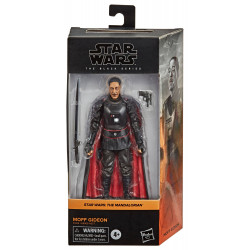 MOFF GIDEON THE MANDALORIAN STAR WARS BLACK SERIES 2021 WAVE 1 FIGURINE 15 CM