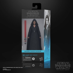 REY DARK SIDE VISION EPISODE IX STAR WARS BLACK SERIES 2021 WAVE 1 FIGURINE 15 CM