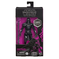 PURGE TROOPER STAR WARS BLACK SERIES GAMING GREATS ELECTROSTAFF ACTION FIGURE 15 CM