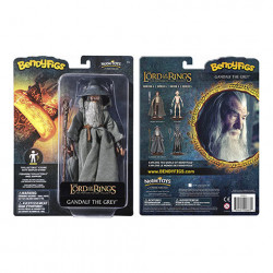 GANDALF THE GREY LORD OF THE RING BENDABLE FIGURE 17 CM