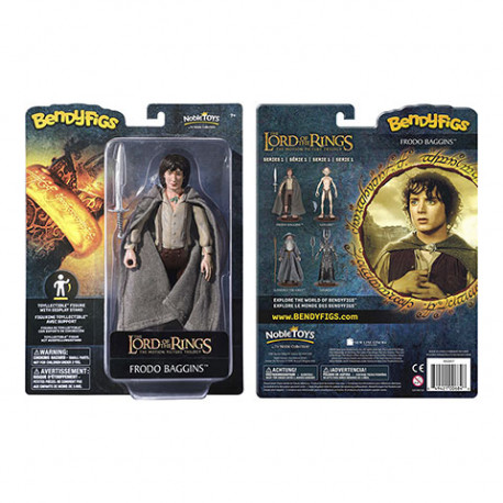 FRODO BAGGINS LORD OF THE RING BENDABLE FIGURE 17 CM
