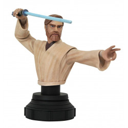 OBI-WAN KENOBI STAR WARS THE CLONE WARS BUSTE 15 CM