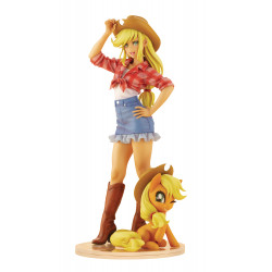 APPLEJACK MY LITTLE PONY BISHOUJO STATUE