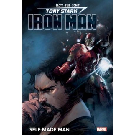 TONY STARK : IRON MAN T01: SELF-MADE MAN