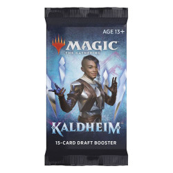 BOOSTER DE DRAFT KALDHEIM EN ANGLAIS MAGIC THE GATHERING TRADING CARDS