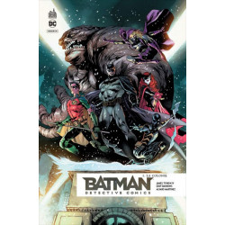 PACK DECOUVERTE BATMAN DETECTIVE COMICS T1 + T2 OFFERT