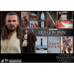 QUI-GON JINN STAR WARS EPISODE I FIGURINE MOVIE MASTERPIECE 32 CM