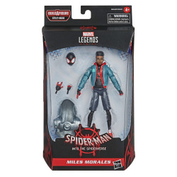 MILES MORALES SPIDER-MAN INTO SPIDER-VERSE MARVEL LEGENDS ACTION FIGURE