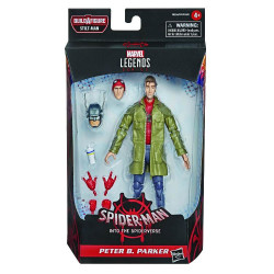 PETER B. PARKER SPIDER-MAN INTO SPIDER-VERSE MARVEL LEGENDS ACTION FIGURE