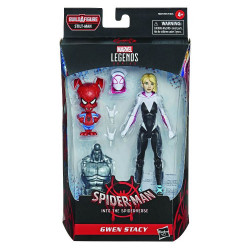 GWEN STACY SPIDER-MAN INTO SPIDER-VERSE MARVEL LEGENDS ACTION FIGURE
