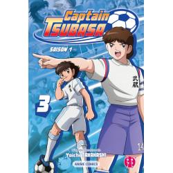 CAPTAIN TSUBASA SAISON 1 T03 ANIME COMICS