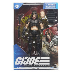 ZARTAN GI JOE CLASSIFIED SERIES 2021 WAVE 1 FIGURINE 15 CM
