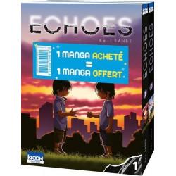 PACK OFFRE DECOUVERTE ECHOES T01 & T02