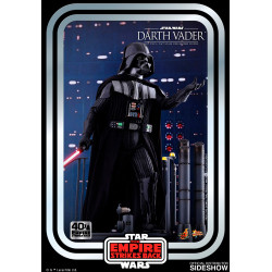 STAR WARS FIGURINE 1/6 DARTH VADER THE EMPIRE STRIKES BACK 40TH ANNIVERSARY COLLECTION 35 CM