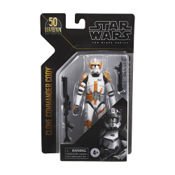 STAR WARS BLACK ARCHIVES 6IN COMANDER CODY ACTION FIGURE 15 CM