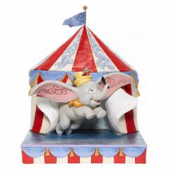 DUMBO TENT OVER THE BIG TOP DISNEY TRADITION STATUE