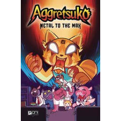 AGGRETSUKO HC VOL 1 METAL TO THE MAX
