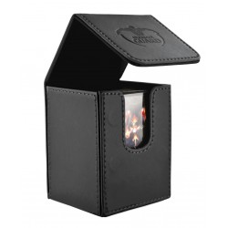 FLIP DECK CASE 100 CARTES NOIR