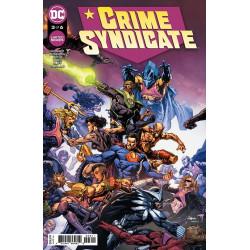 CRIME SYNDICATE 3 OF 6 CVR A DAVID FINCH