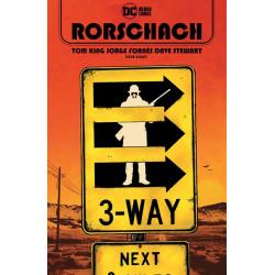 RORSCHACH 8 OF 12 CVR A JORGE FORNES MR