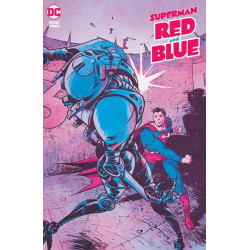 SUPERMAN RED BLUE 3 OF 6 CVR A PAUL POPE