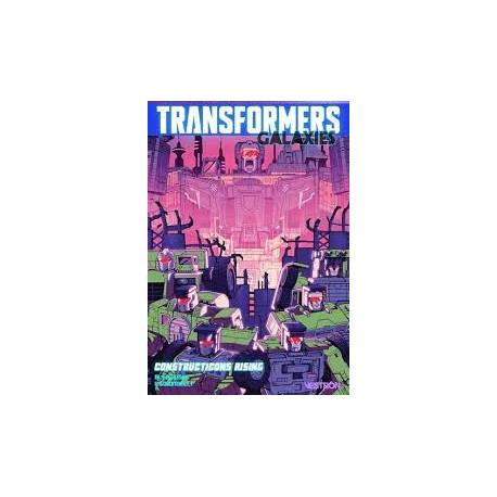 TRANSFORMERS GALAXIES T01 CONSTRUCTICONS RISING