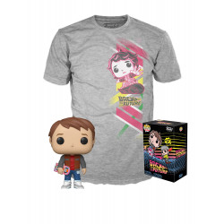 Retour vers le Futur POP! & Tee set figurine et T-Shirt Marty heo Exclusive
