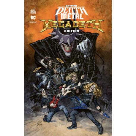 BATMAN DEATH METAL TOME 1 MEGADETH EDITION SPECIALE,