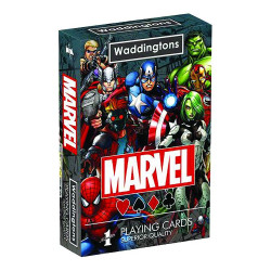 MARVEL UNIVERSE PLAYING CARDS
