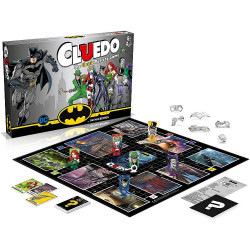 BATMAN CLUEDO english version