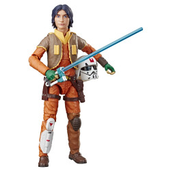 EZRA BRIDGER STAR WARS REBELS BLACK SERIES FIGURINE 2020 15 CM
